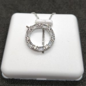 Circle of life crystal necklace for you